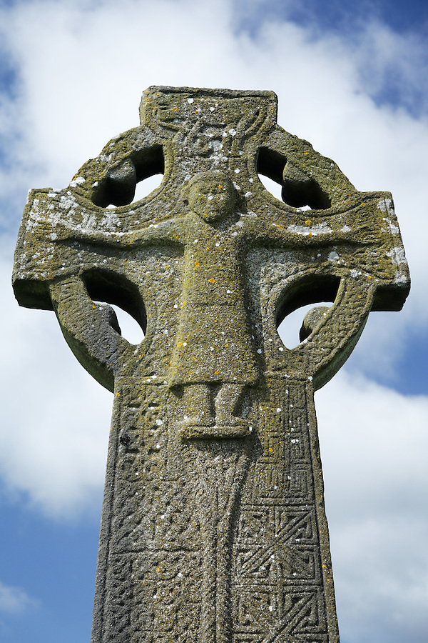 The West Cross, Kilfenora, The Burren, County Clare, Republic of Ireland