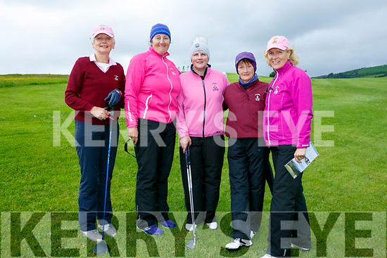 At the Ladies Golf Challenge, Intermediate and Junior cups at Castleisland Golf Club on Sunday were Ballybunion Golf Club's Caitriona Corrigan, Deirdre Dillane, Pat Joyce, Nora Quade and Josette O'Donnell.