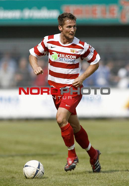 RLN 2007/2008 4. Spieltag Hinrunde<br /> BSV Kickers Emden - 1. FC Union Berlin<br /> Michael Bemben (Union#24) <br /> <br /> Foto &copy; nph (  nordphoto  )<br /> <br /> <br /> <br />  *** Local Caption ***