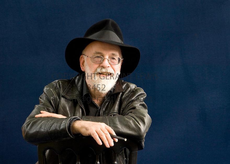 Terry Pratchett, author of Discworld CREDIT Geraint Lewis