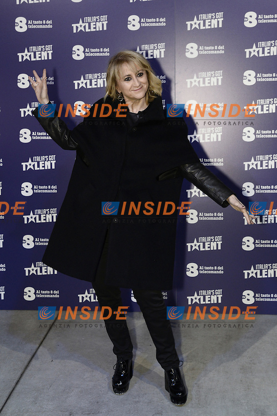 Milano 20-02-2017 - photocall trasmissione TV 'Italian's got talent' / foto Daniele Buffa/Image/Insidefoto  <br /> nella foto: Luciana Littizzetto