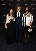 Robin Coste Lewis, LACMA CEO and Wallis Annenberg Director Michael Govan, wearing Gucci, actor Katherine Ross attend 2018 LACMA Art + Film Gala at LACMA on November 3, 2018 in Los Angeles, California.     <br /> CAP/MPI/IS<br /> &copy;IS/MPI/Capital Pictures
