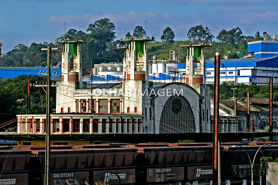 Estação ferroviária de Mairinque. São paulo. Foto de Juca Martins. Data. 2005.