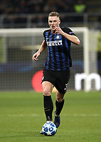 Football: UEFA Champions League -Group Stage - Group B - FC Internazionale Milano vs PSV Eindhoven, Giuseppe Meazza  (San Siro) Stadium, Milan Italy, December 11, 2018.<br /> Inter Milan's Danilo D'Ambrosio in action during the Uefa Champions League football match between Inter Milan and PSV Eindhoven at Giuseppe Meazza  (San Siro) Stadium in Milan on December 11, 2018. <br /> UPDATE IMAGES PRESS/Isabella Bonotto