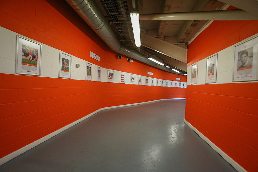 The hall of fame inside Bloomfield Road, home of Blackpool<br /> <br /> Photographer Alex Dodd/CameraSport<br /> <br /> The EFL Sky Bet League Two - Blackpool v Notts County - Saturday 12th November 2016 - Bloomfield Road - Blackpool<br /> <br /> World Copyright &copy; 2016 CameraSport. All rights reserved. 43 Linden Ave. Countesthorpe. Leicester. England. LE8 5PG - Tel: +44 (0) 116 277 4147 - admin@camerasport.com - www.camerasport.com