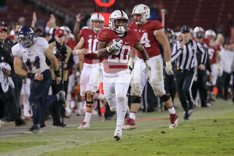 Stanford, CA - November 26, 2016: Stanford defeats Rice 41-17 at Stanford Stadium.