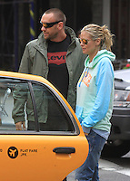 Heidi Klum and her boyfriend Martin Kristen in New York City
