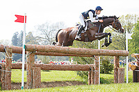 AUS-Christopher Burton (NOBILIS 18) ELIMINATED: CROSS COUNTRY: 2016 GBR-Mitsubishi Motors Badminton Horse Trials CCI4* (Saturday 7 May) CREDIT: Libby Law COPYRIGHT: LIBBY LAW PHOTOGRAPHY