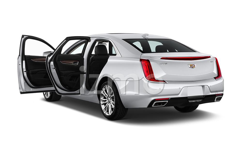 Car images close up view of a 2018 Cadillac XTS Luxury 4 Door Sedan doors