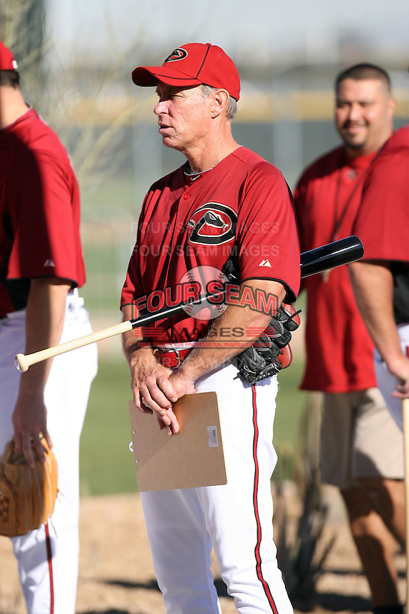 Alan Trammell (bench coach), Arizona Diamondbacks 2011 spring training workouts at the Diamondbacks new training complex at Salt River Fields at Talking Stick, Scottsdale, AZ - 02/14/2011.Photo by:  Bill Mitchell/Four Seam Images.