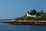 Burnt Island Lighthouse, Southport, Maine, USA