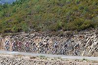 The peloton during the stage of La Vuelta 2012 between Palas de Rei and Puerto de Ancares.September 1,2012. (ALTERPHOTOS/Paola Otero) NortePhoto.com<br /> <br /> **CREDITO*OBLIGATORIO** <br /> *No*Venta*A*Terceros*<br /> *No*Sale*So*third*<br /> *** No*Se*Permite*Hacer*Archivo**<br /> *No*Sale*So*third*