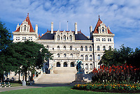 State Capitol, State House, Albany, NY, New York, New York State Capitol Building in the capital city of Albany.