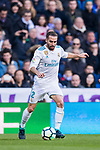 Daniel Carvajal Ramos of Real Madrid in action during the La Liga 2017-18 match between Real Madrid and Deportivo Alaves at Santiago Bernabeu Stadium on February 24 2018 in Madrid, Spain. Photo by Diego Souto / Power Sport Images