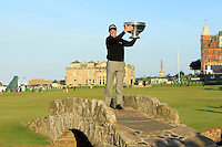 David Howell (ENG) is the 2013 Alfred Dunhill Links Champion.<br /> Picture:  Thos Caffrey / www.golffile.ie