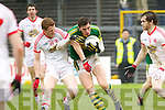 David Moran, Kerry in action against \t28\ Tyrone in the fourth round of the National Football league at Fitzgerald Stadium, Killarney on Sunday.