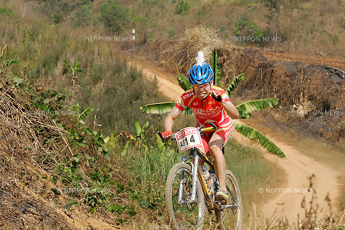 Chiang-Rai MTB Challenge 2009, rider A3-14 Mitsuhiro SANO(photo Laurent Benchana/Nippon News)