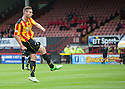 Partick's Stephen O'Donnell scores their first goal.