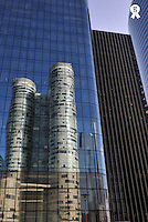Reflection of Skyscrapers in La Defense (Licence this image exclusively with Getty: http://www.gettyimages.com/detail/95794848 )