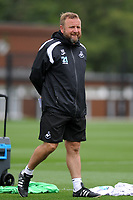 Swansea City assistant manager Billy Reid during the Swansea City Training Session at The Fairwood Training Ground, Wales, UK. Tuesday 14th August 2018
