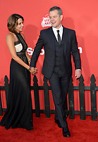 Matt Damon &amp; Luciana Barroso at the premiere for &quot;Suburbicon&quot; at the Regency Village Theatre, Westwood. Los Angeles, USA 22 October  2017<br /> Picture: Paul Smith/Featureflash/SilverHub 0208 004 5359 sales@silverhubmedia.com
