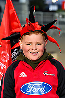 11th July 2020, Christchurch, New Zealand;  Fans during the Super Rugby Aotearoa, Crusaders versus Blues at Orangetheory Stadium, Christchurch