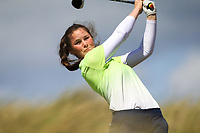 Aíne Donegan (Woodstock) during the 1st round of the Irish Women's Open Stroke Play Championship, Enniscrone Golf Club, Enniscrone, Co. Sligo. Ireland. 16/06/2018.<br /> Picture: Golffile | Fran Caffrey<br /> <br /> <br /> All photo usage must carry mandatory copyright credit (© Golffile | Fran Caffrey)