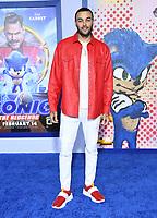 "12 February 2020 - Los Angeles, California - Don Benjamin. ""Sonic the Hedgehog"" Los Angeles Premiere held at the Regency Village Theater. Photo Credit: Birdie Thompson/AdMedia"