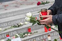 Offizielles Gedenken durch berliner Politiker am 2.Jahrestag des Terroranschlag durch den islamistischen Terroristen Anis Amri auf den Weihnachtsmarkt am Berliner Breitscheidplatz am 19. Dezember 2016.<br /> 19.12.2018, Berlin<br /> Copyright: Christian-Ditsch.de<br /> [Inhaltsveraendernde Manipulation des Fotos nur nach ausdruecklicher Genehmigung des Fotografen. Vereinbarungen ueber Abtretung von Persoenlichkeitsrechten/Model Release der abgebildeten Person/Personen liegen nicht vor. NO MODEL RELEASE! Nur fuer Redaktionelle Zwecke. Don't publish without copyright Christian-Ditsch.de, Veroeffentlichung nur mit Fotografennennung, sowie gegen Honorar, MwSt. und Beleg. Konto: I N G - D i B a, IBAN DE58500105175400192269, BIC INGDDEFFXXX, Kontakt: post@christian-ditsch.de<br /> Bei der Bearbeitung der Dateiinformationen darf die Urheberkennzeichnung in den EXIF- und  IPTC-Daten nicht entfernt werden, diese sind in digitalen Medien nach &sect;95c UrhG rechtlich geschuetzt. Der Urhebervermerk wird gemaess &sect;13 UrhG verlangt.]