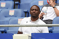 16th July 2020; Nice, France; Veolia Trohy Football friendly, OGC Nice versus Celtic FC;  Patrick Vieira trainer of nice