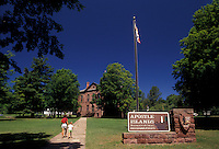 AJ2849, Apostle Islands, Wisconsin, National Lakeshore Headquarters and Visitor Center at Apostle Islands National Lakeshore in Bayfield in the state of Wisconsin.