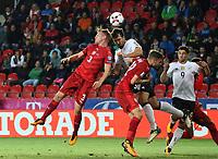 KopfballMats Hummels (Deutschland Germany) gegen Tomas Kalas (Tschechische Republik) - 01.09.2017: Tschechische Republik vs. Deutschland, Eden Arena