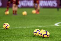 Balls Football <br /> Roma 16-12-2018 Stadio Olimpico<br /> Football Calcio Campionato Serie A<br /> 2018/2019 <br /> AS Roma - Genoa<br /> Foto Antonietta Baldassarre / Insidefoto