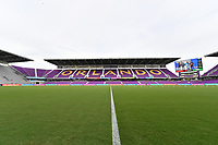 Orlando, FL - Saturday July 20, 2019:  Exploria Stadium prior to a regular season National Women's Soccer League (NWSL) match between the Orlando Pride and the Sky Blue FC at Exploria Stadium.