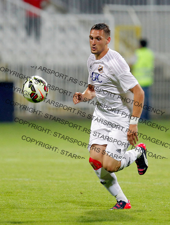Nikola Stojiljkovic Liga Evrope kvalifikacije Cukaricki - Gabala Jul 16. 2015. (credit image & photo: Pedja Milosavljevic / STARSPORT)