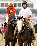 May 03, 2019 :#1 McKinzie and jockey Mike Smith win the 16th running of The Alysheba Grade 2 $400,000 for owner Mike Pegram and Paul Weitman and trainer Bob Baffert at Churchill Downs on May 03, 2019.  Candice Chavez/ESW/CSM
