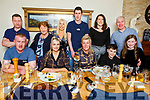 Joan Naughton from Cordal celebrating her birthday and her son Pa Naughton and Caroline Ahern (Castleisland)  celebrating their engagement in Bella Bia on Saturday night.<br /> Seated l to r: Pa Naughton, Caroline Ahern, Joan Naughton, Ger and Ciara Costello.  Back l to r: Ted Ring, Kathleen and Sheila Costello, Jeremiah Naughton, Siobhan and Maurice Costello.