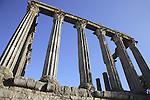 Roman Temple - Diana, Evora, Alentejo, Portugal