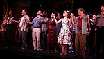 Phillip Hernandez, Stephen Wallem, Will Chase, Leslie Uggams, Laura Osnes, Tom Wopat & James Clow.during the New York City Center Encores! 'Pipe Dream' Opening Night Curtain Call in New York City on 3/28/2012.