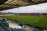A general view of Sandy Park, home of Exeter Chiefs<br /> <br /> Photographer Bob Bradford/CameraSport<br /> <br /> Premiership Rugby Cup Semi Final - Exeter Chiefs v Harlequins - Sunday 2nd February 2020 - Sandy Park - Exeter<br /> <br /> World Copyright © 2018 CameraSport. All rights reserved. 43 Linden Ave. Countesthorpe. Leicester. England. LE8 5PG - Tel: +44 (0) 116 277 4147 - admin@camerasport.com - www.camerasport.com