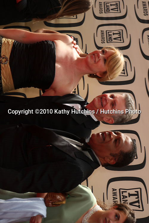 Fred Grandy, Jill Whalen, and Ted Lange.arrives at the 2010 TV Land Awards.Sony Studios.Culver City, CA.April 17, 2010.©2010 Kathy Hutchins / Hutchins Photo...