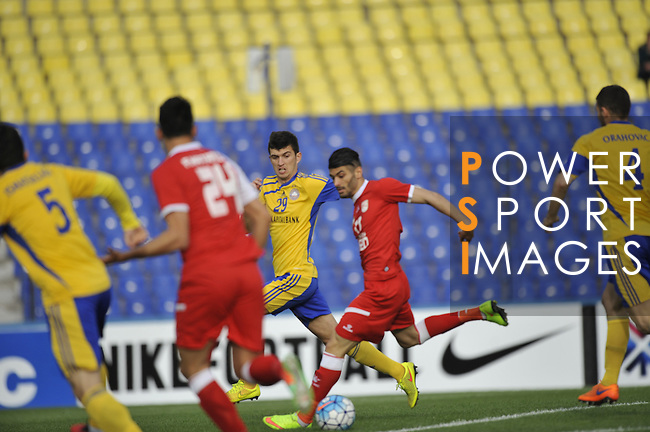 PAKHTAKOR (UZB) VS TRACTORSAZI TABRIZ (IRN) during the 2016 AFC Champions League Group C Match Day 3 match on 15 March 2016 at the Pakhtakor Stadium in Tashkent, Uzbekistan. Photo by Stringer / Lagardere Sports