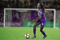 Orlando, FL - Saturday September 02, 2017: Chioma Ubogagu during a regular season National Women's Soccer League (NWSL) match between the Orlando Pride and the Boston Breakers at Orlando City Stadium.