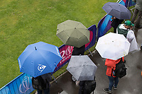Umbrellas required at a rain soaked Bristol during Pakistan vs Sri Lanka, ICC World Cup Cricket at the Bristol County Ground on 7th June 2019
