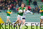 Tadhg Morley Kerry in action against George Bastible IT Tralee in the McGrath cup at Austin Stack Park on Sunday.