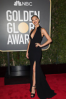 Demi-Leigh Nel-Peters arrives at the 75th Annual Golden Globe Awards at the Beverly Hilton in Beverly Hills, CA on Sunday, January 7, 2018.<br /> *Editorial Use Only*<br /> CAP/PLF/HFPA<br /> &copy;HFPA/Capital Pictures