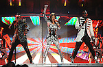 """Apl.de.ap,Will.i.am & Stacy Ferguson aka Fergie of The Black Eyed Peas performs live at Staples Center as part of their """"The E.N.D. Tour"""" in Los Angeles, California on March 29,2010                                                                   Copyright 2010  DVS / RockinExposures"""