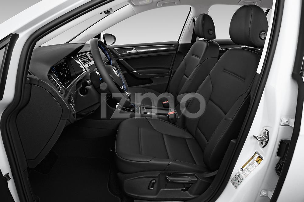Front seat view of a 2019 Volkswagen e-Golf SEL Premium 5 Door Hatchback front seat car photos