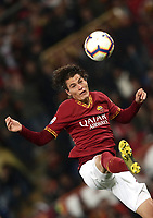 Football, Serie A: AS Roma - Parma, Olympic stadium, Rome, May 26, 2019. <br /> Roma' Patrik Schick in action during the Italian Serie A football match between Roma and Parma at Olympic stadium in Rome, on May 26, 2019.<br /> UPDATE IMAGES PRESS/Isabella Bonotto