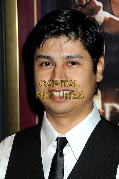 "PAUL CRUZ .""Fall Down Dead"" Los Angeles Premiere held at Laemmle's Music Hall,  Beverly Hills, California, USA, .18th December 2009..portrait headshot black tie .CAP/ADM/BP.©Byron Purvis/Admedia/Capital Pictures"